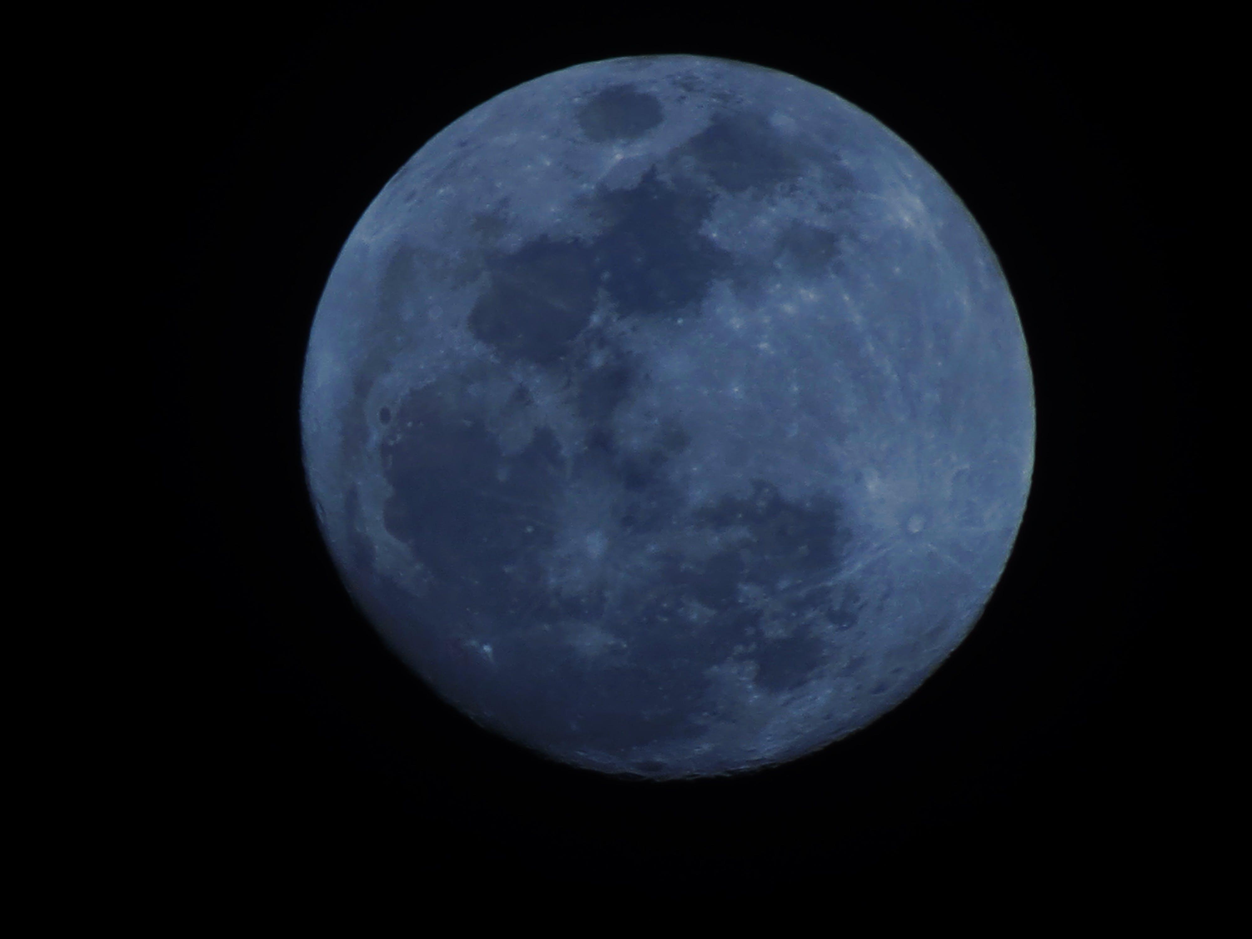 Foto profissional grátis de lua