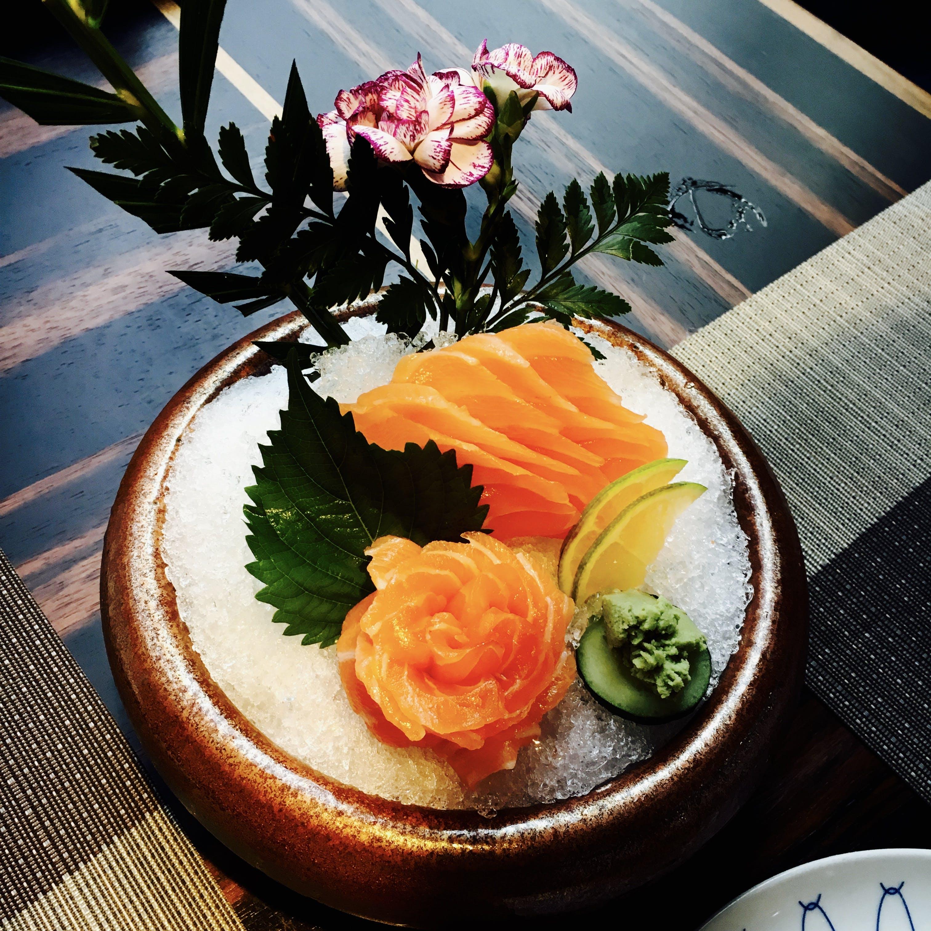 Round Brown Ceramic Bowl