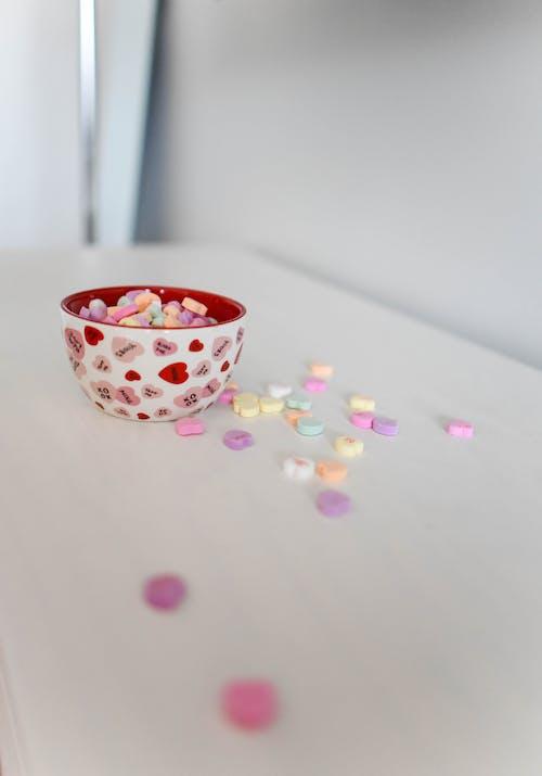 Kostnadsfri bild av alla hjärtans dag, bakgrund, blommig, blommor