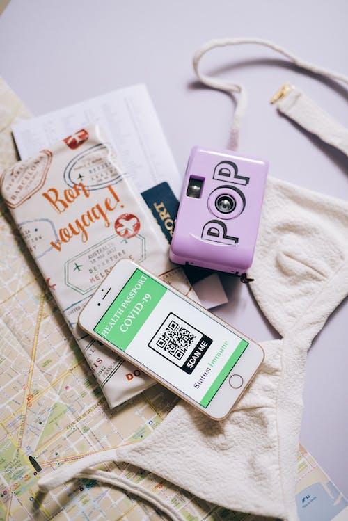 Free stock photo of covid, covid-19, health passport