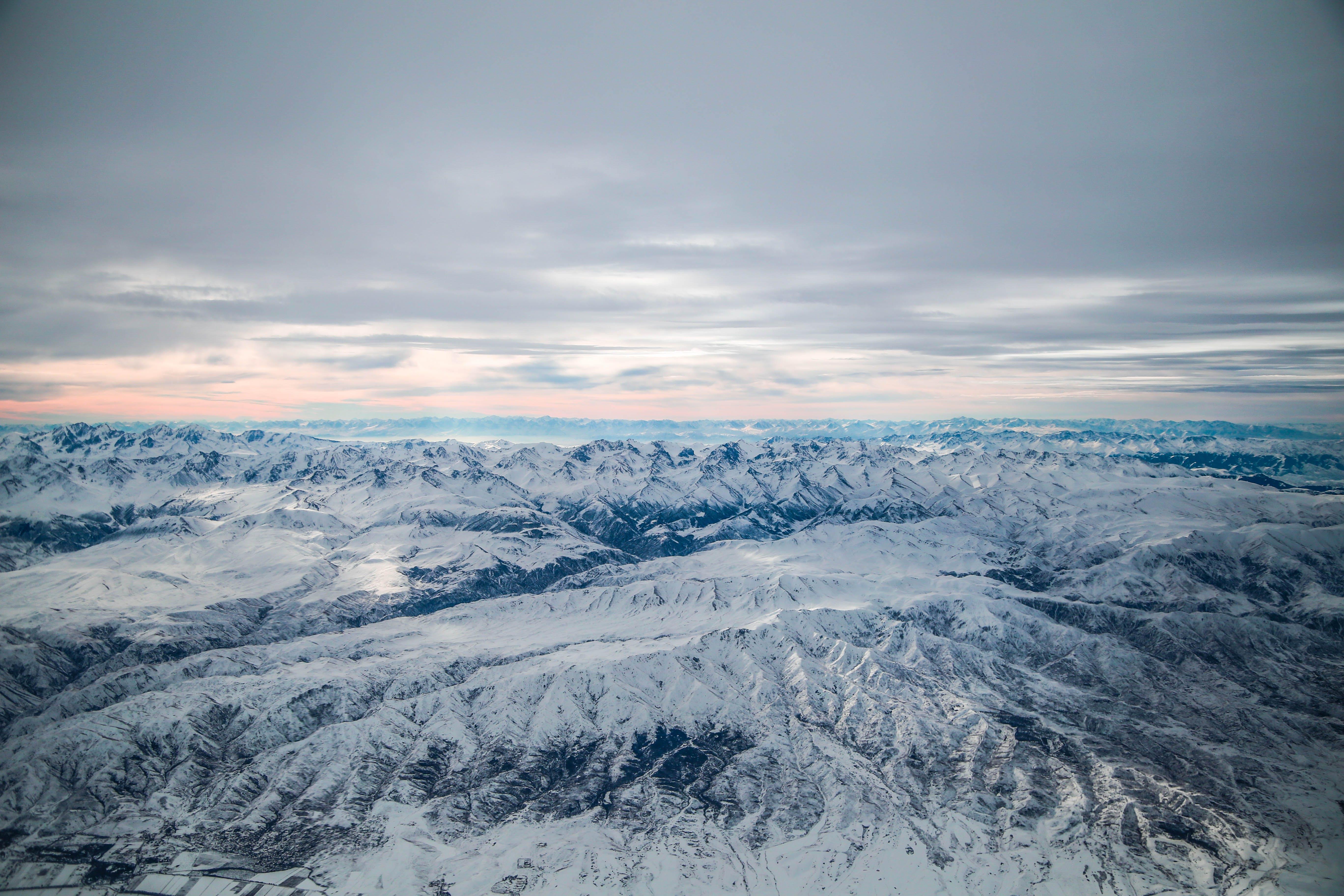 Snowfield over Horizon