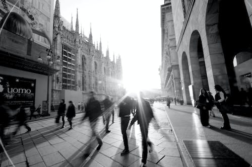 Free stock photo of bw, duomo, italy, Milano