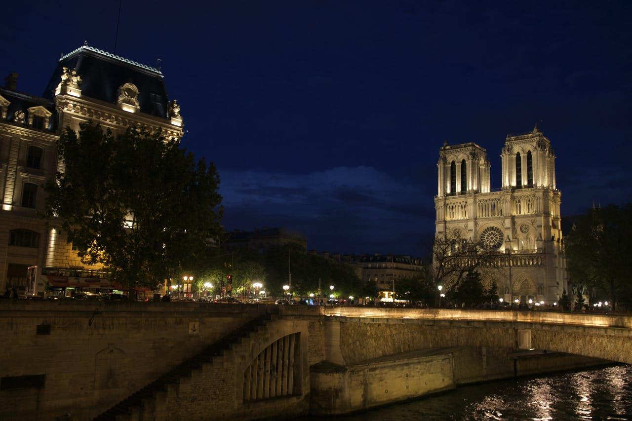 Free stock photo of light, sunset, france, paris