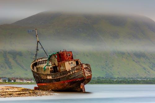 Shipwreck in the Shore