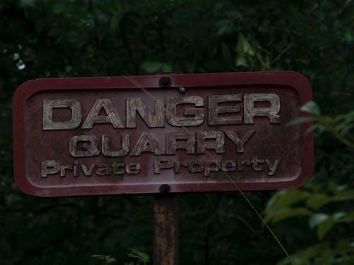 Free stock photo of danger quarry