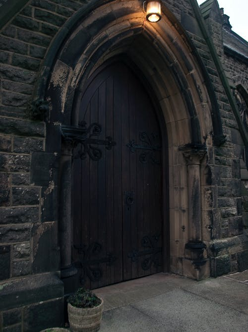 Free stock photo of church door