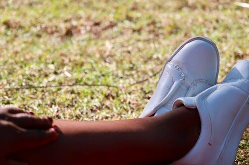 腿, 膠鞋 的 免费素材照片