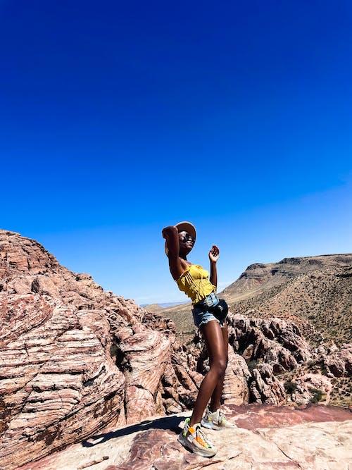 Free stock photo of adult, adventure, beautiful black women