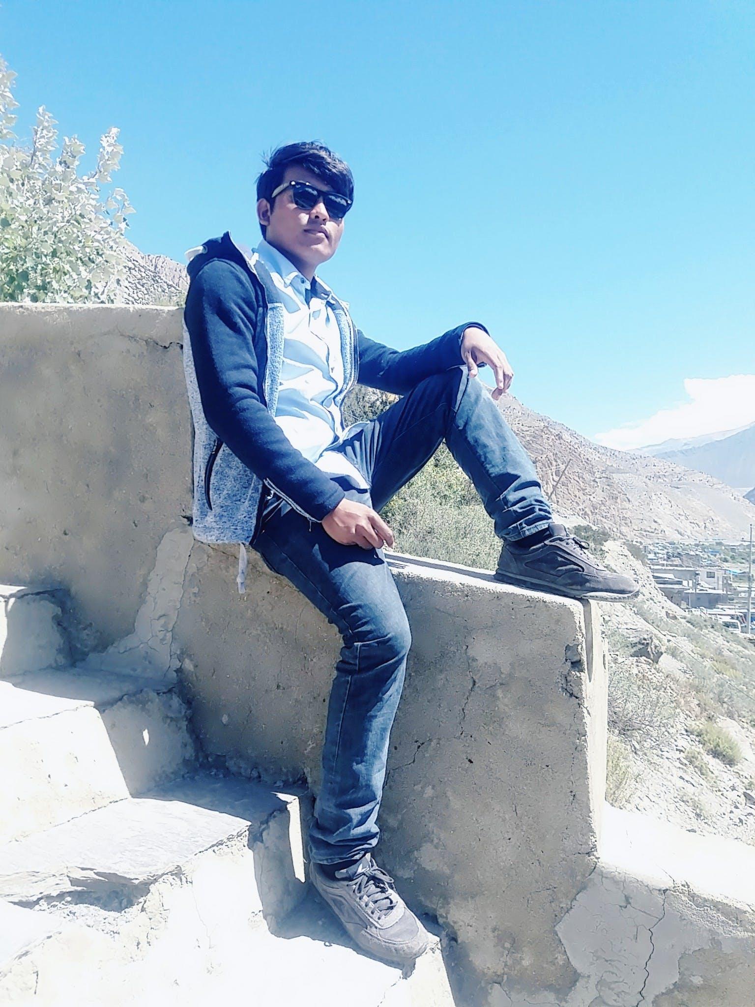 Free stock photo of Nepali model