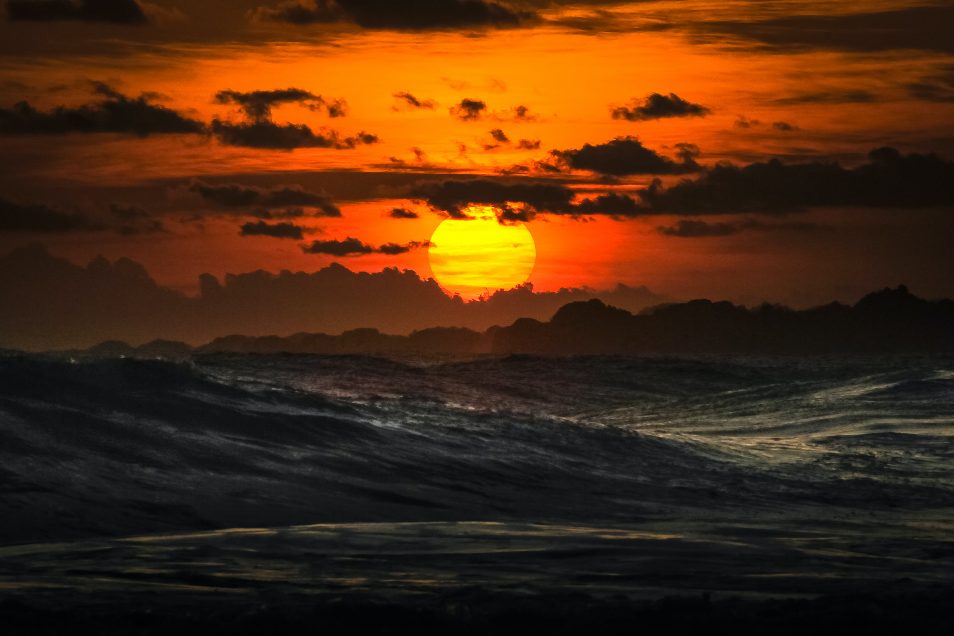 Free stock photo of beach, golden hour, golden sunset, landscape