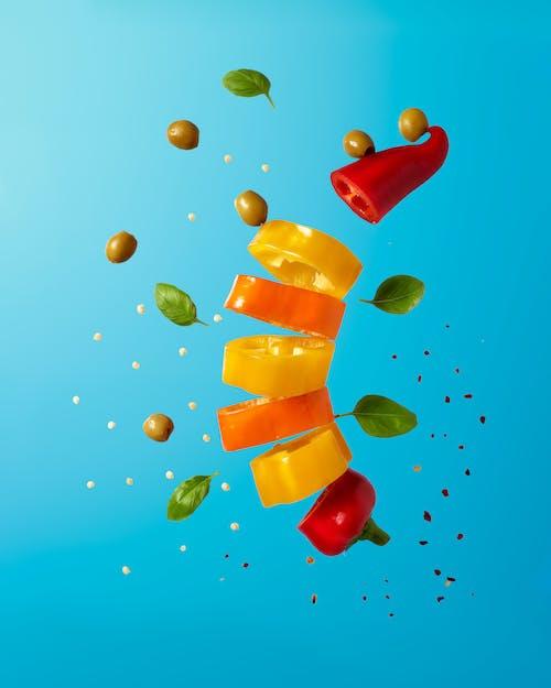 Foto profissional grátis de alimento, arte, azeitonas