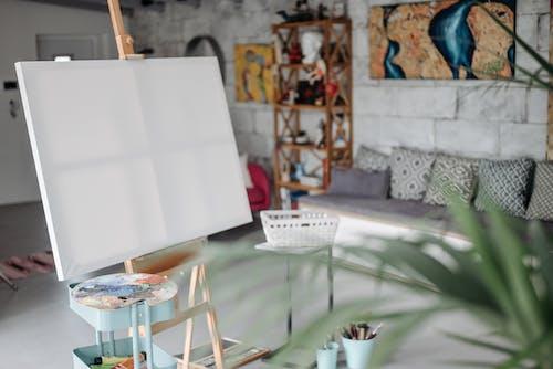 Foto profissional grátis de dentro de casa, em branco, exame