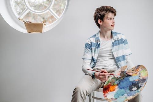 Foto stok gratis anak-anak, belum tua, berbentuk bola