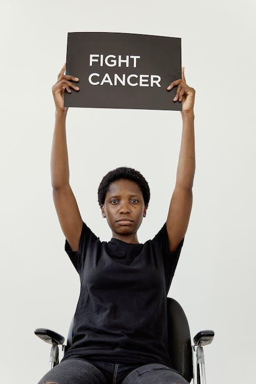 Immagine gratuita di cancro, combattere il cancro, donna