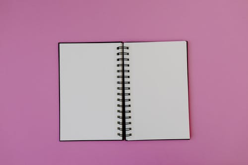 White Paper on Pink Surface