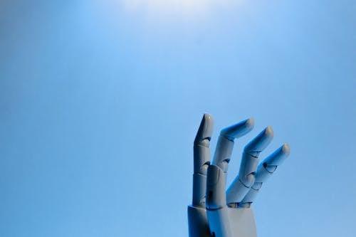 Gratis stockfoto met ai, blauwe achtergrond, futuristisch
