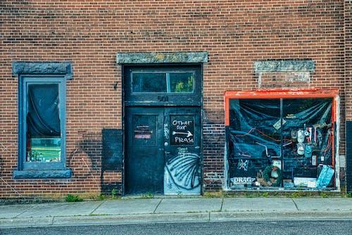 Ilmainen kuvapankkikuva tunnisteilla arkkitehtuuri, autio, graffiti