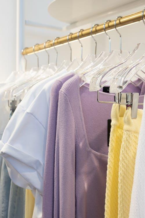 Purple and White Dress Shirts