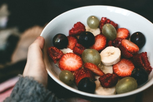 Assorted Berries on Bowl