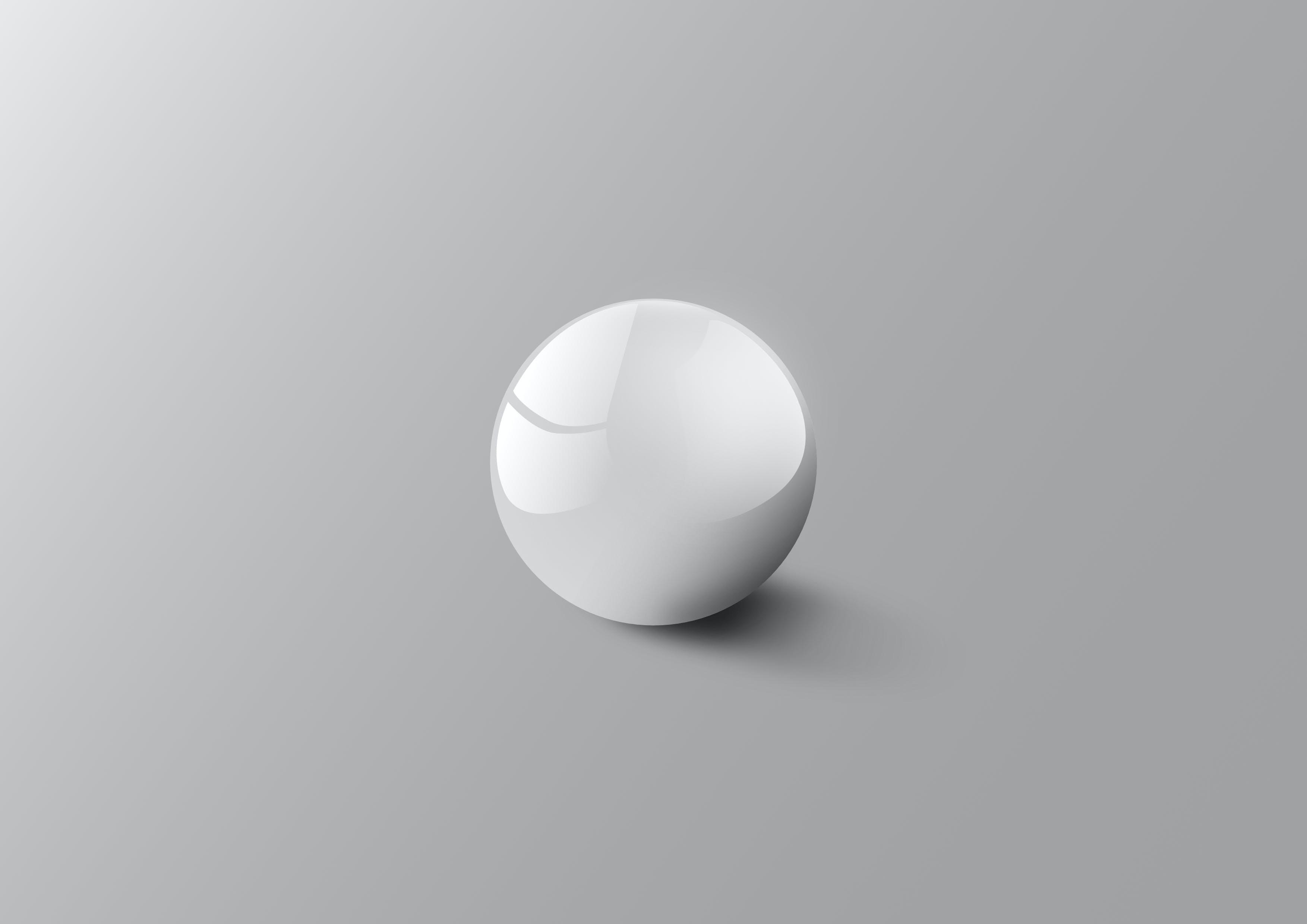 Foto stok gratis abu, bayangan, bentuk, bola