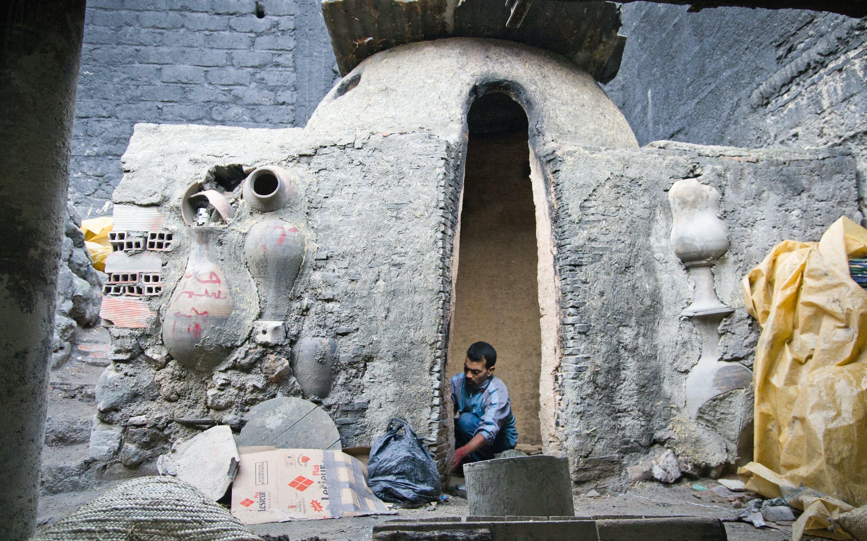 Kostenloses Stock Foto zu keramik, marokko, ofen, töpfe