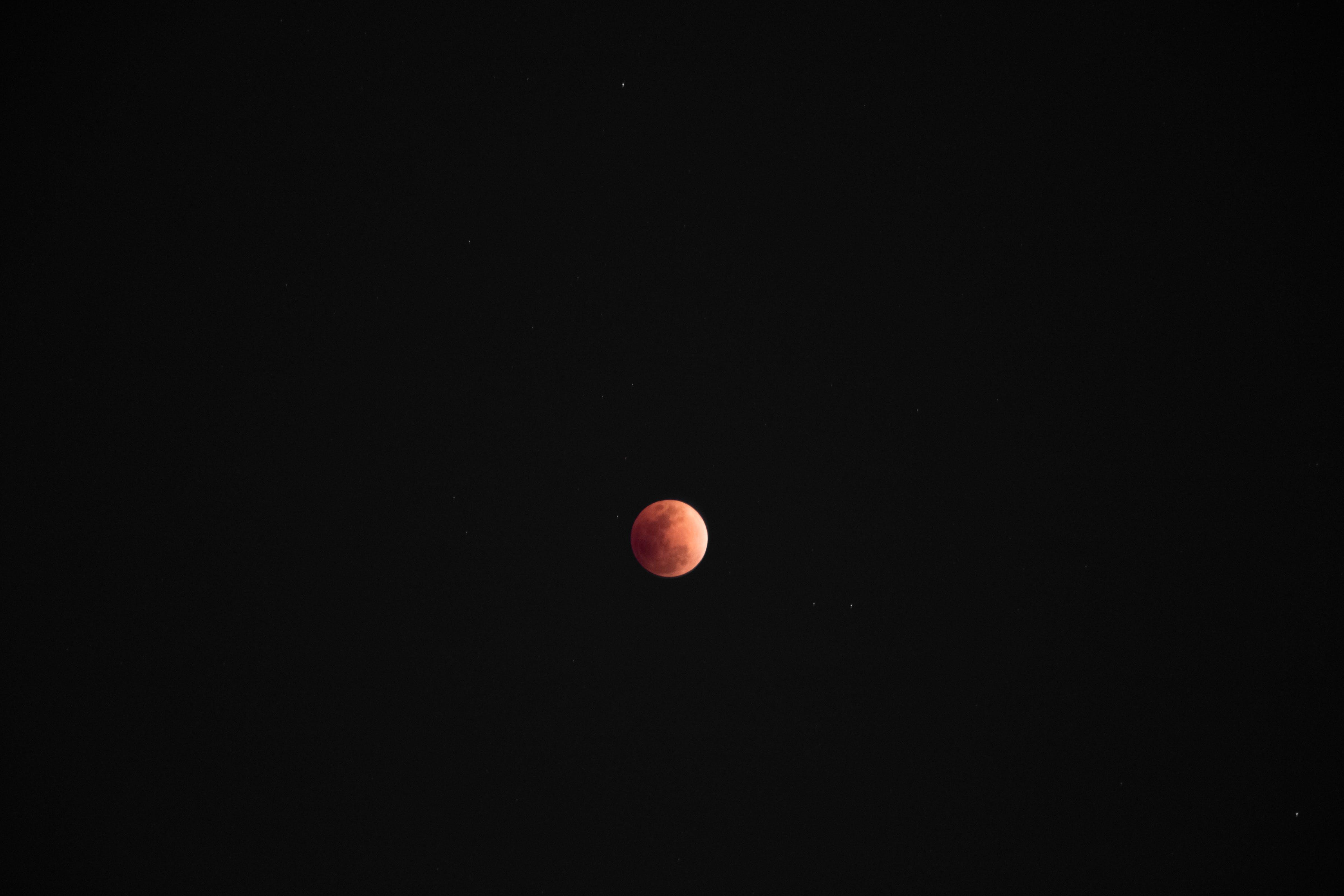 Kostenloses Stock Foto zu astronomie, dunkel, finsternis, kugel