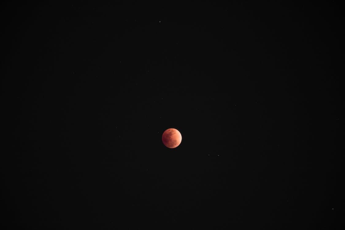 astronomi, formørkelse, fuldmåne