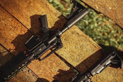 Rifle on Flatlay Photography