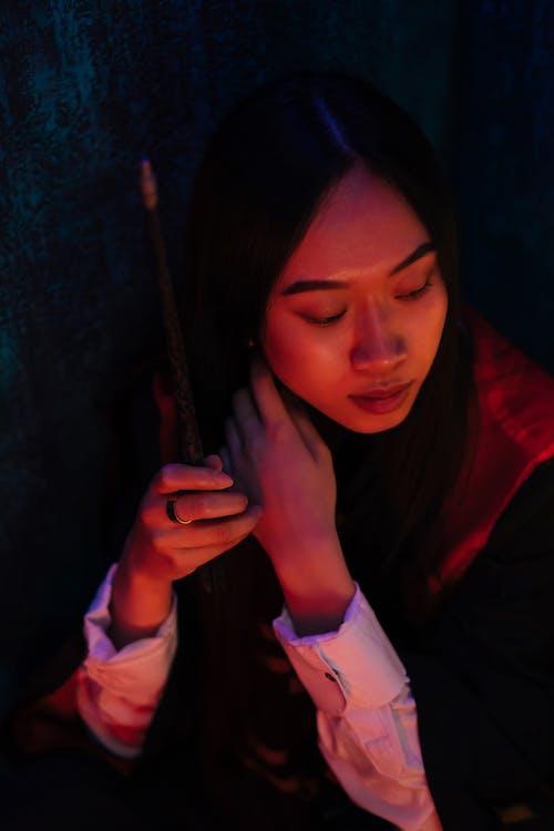 Fotos de stock gratuitas de asiática, bata, bonito