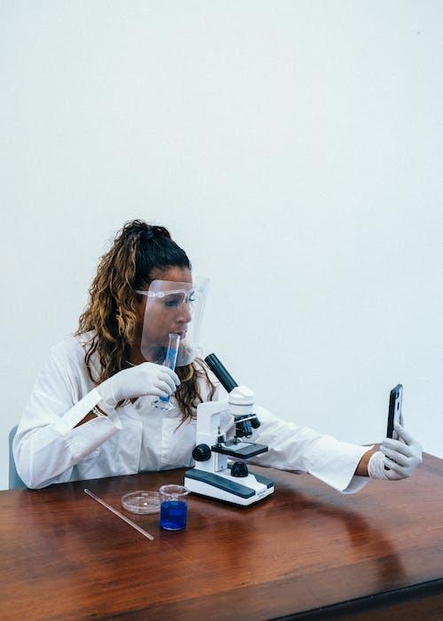 Free stock photo of adult, black scientist, black woman