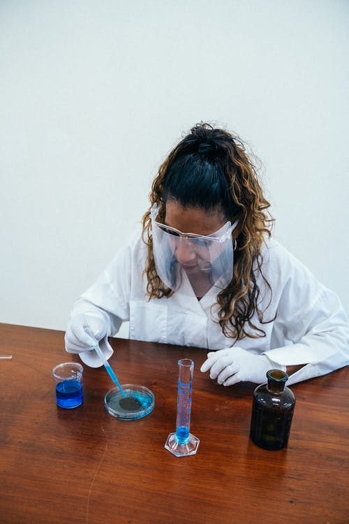 Free stock photo of adult, biology, black scientist
