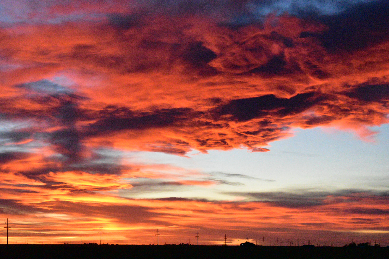 Free stock photo of beautiful, clouds, cloudy sunset, golden sunset