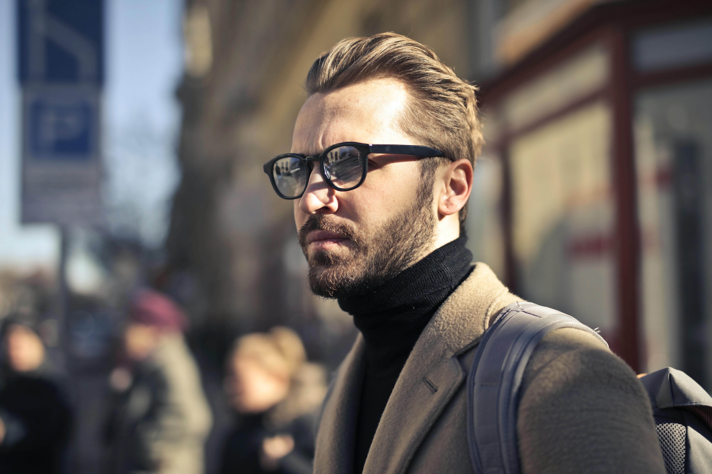 cf8f5b25ef3 Man Wearing Eyeglasses · Free Stock Photo