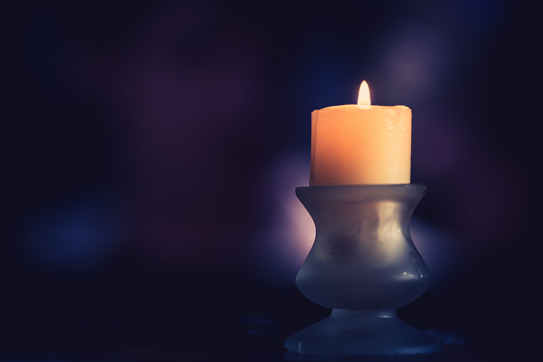 Free stock photo of candelabro, candle, light, luz