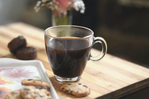 คลังภาพถ่ายฟรี ของ #กาแฟ, #คุ้กกี้, #ช็อคโกแลต