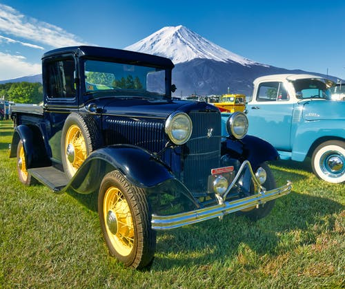 Free stock photo of antique car, black car, model t ford