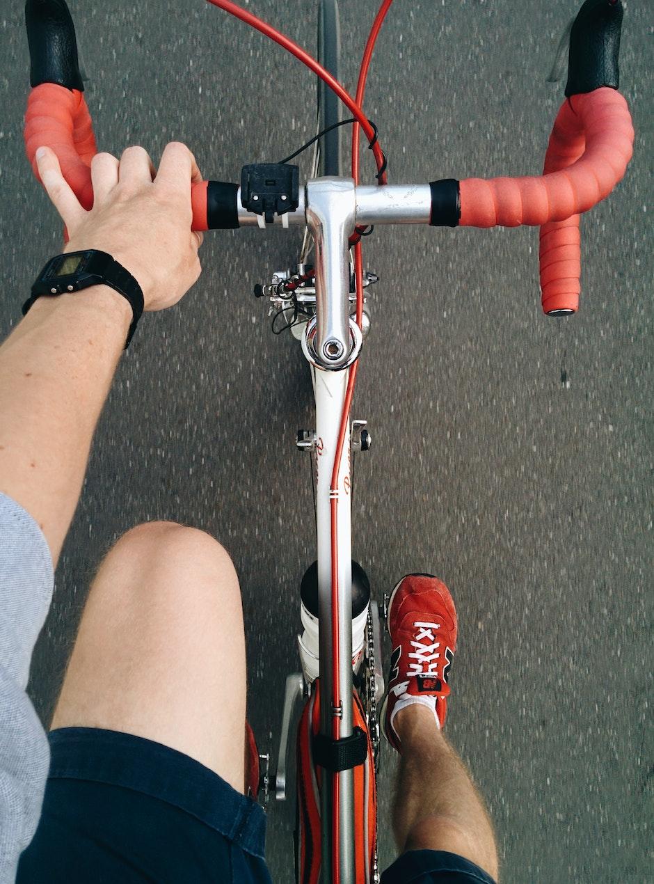 athlete, bicycle, bike