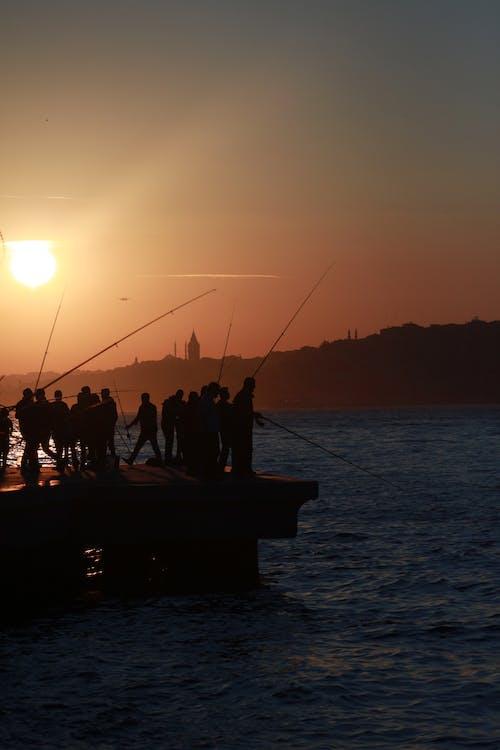 Foto stok gratis akşam güneşi, gün batımı manzarası, güneş