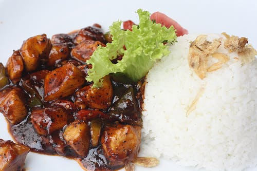 Free stock photo of asian food, ayam, blackpepper