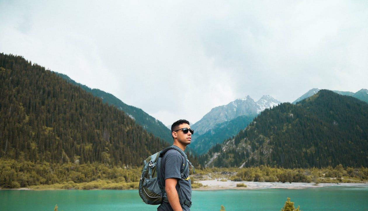 Man Looking at the Horizon