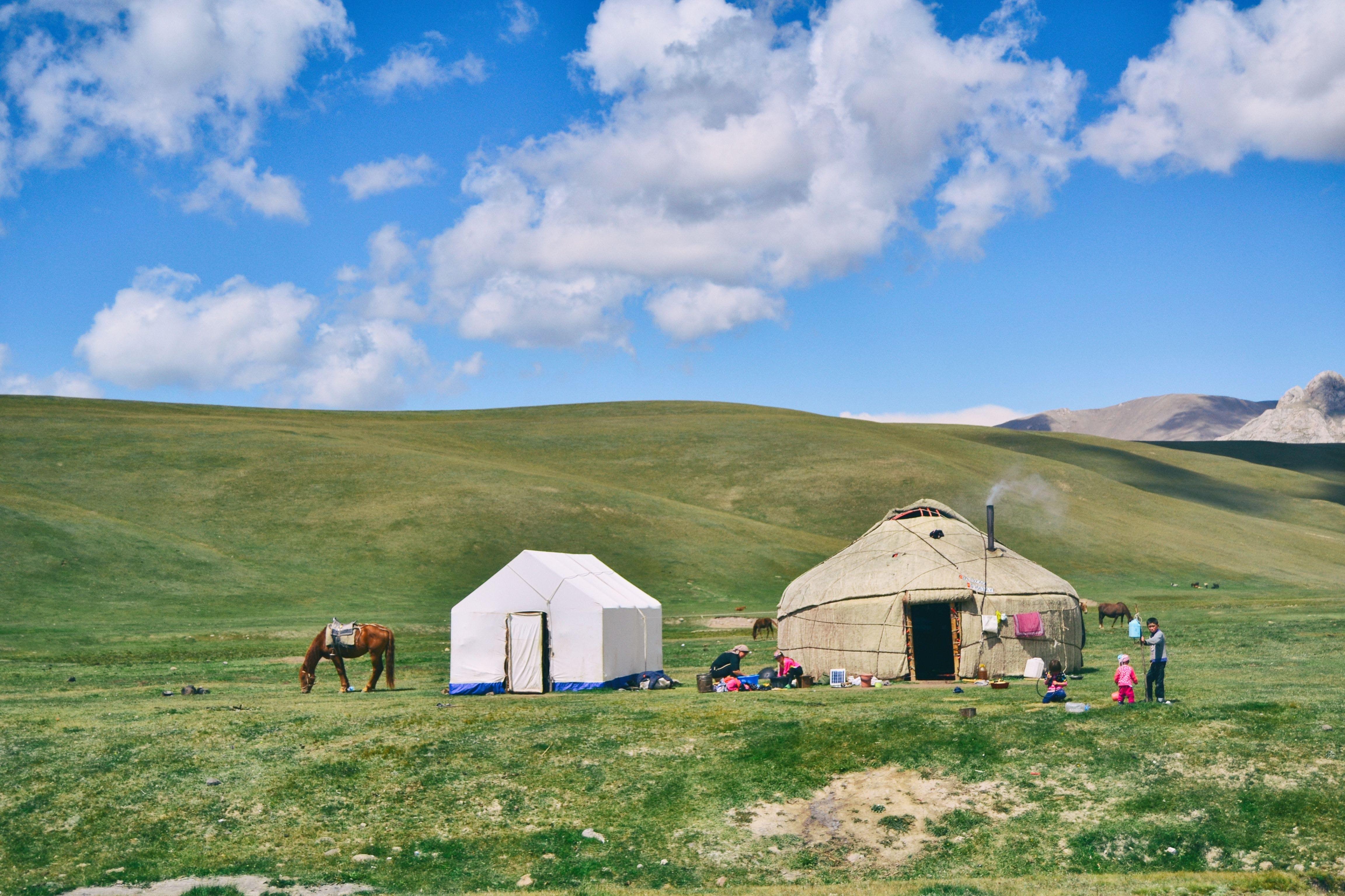 Základová fotografie zdarma na téma chýše, hory, hřiště, idylický