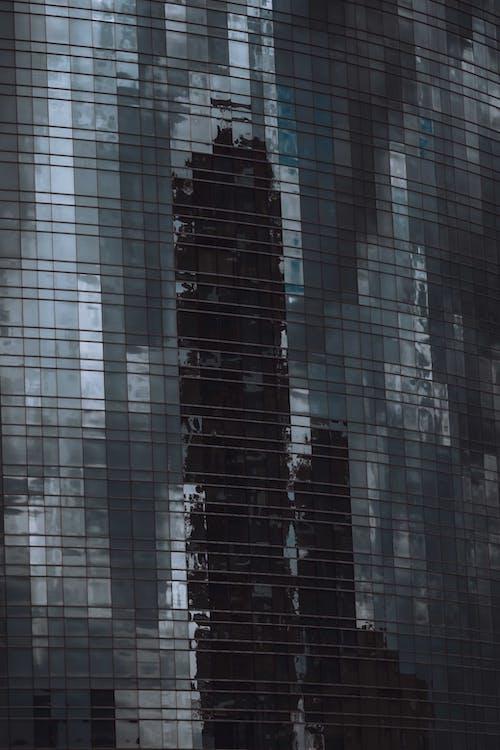 ayna, bina, çağdaş içeren Ücretsiz stok fotoğraf