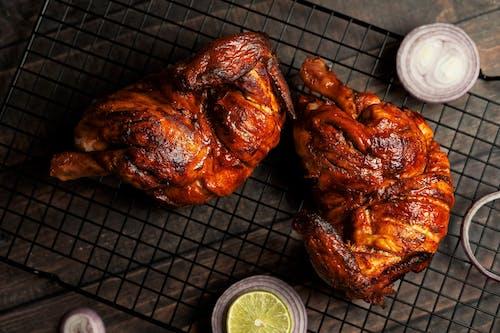 お肉, チキン, ディナーの無料の写真素材