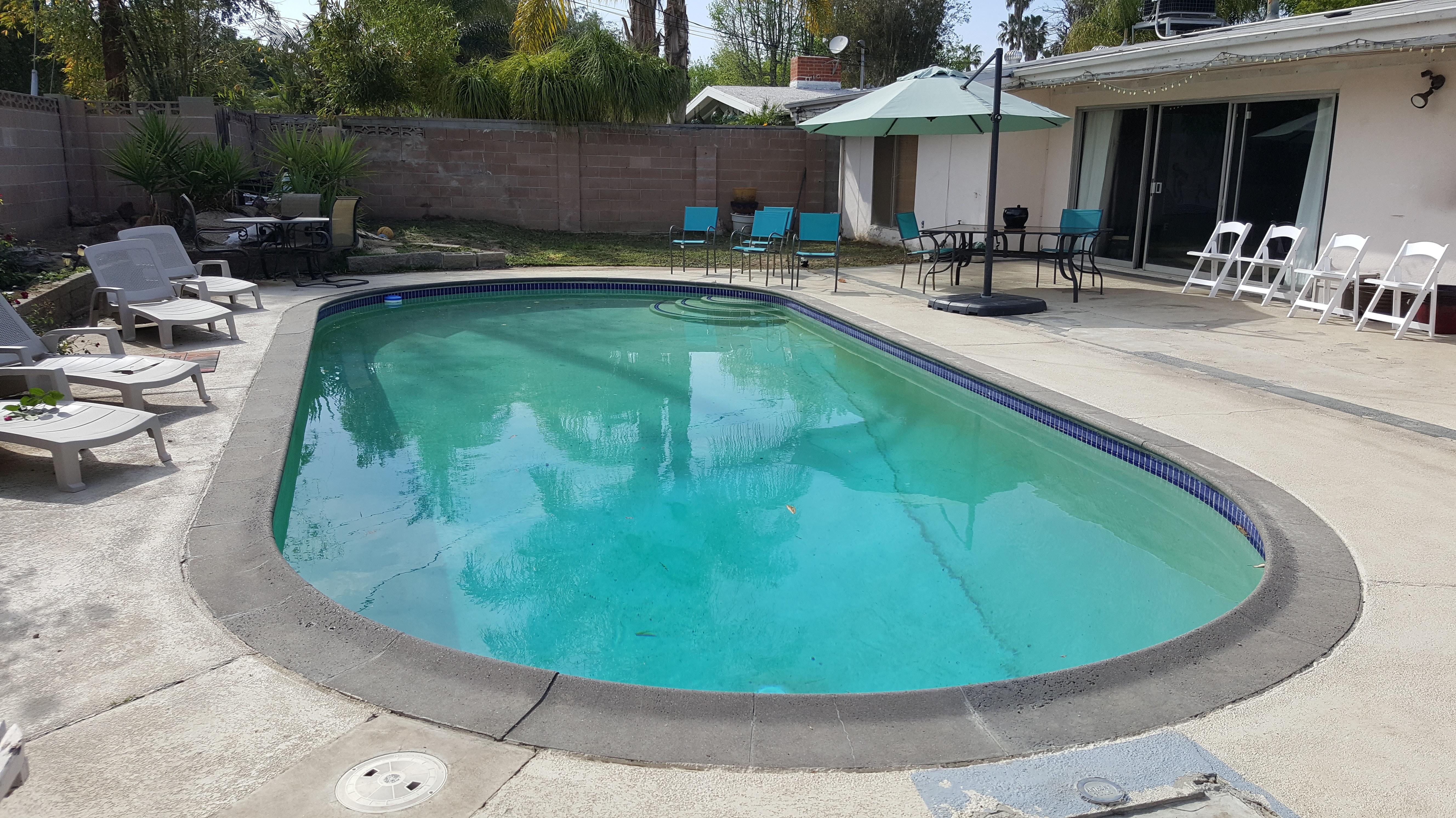 Kostenloses Foto Zum Thema Hinterhof Pool Schwimmbecken
