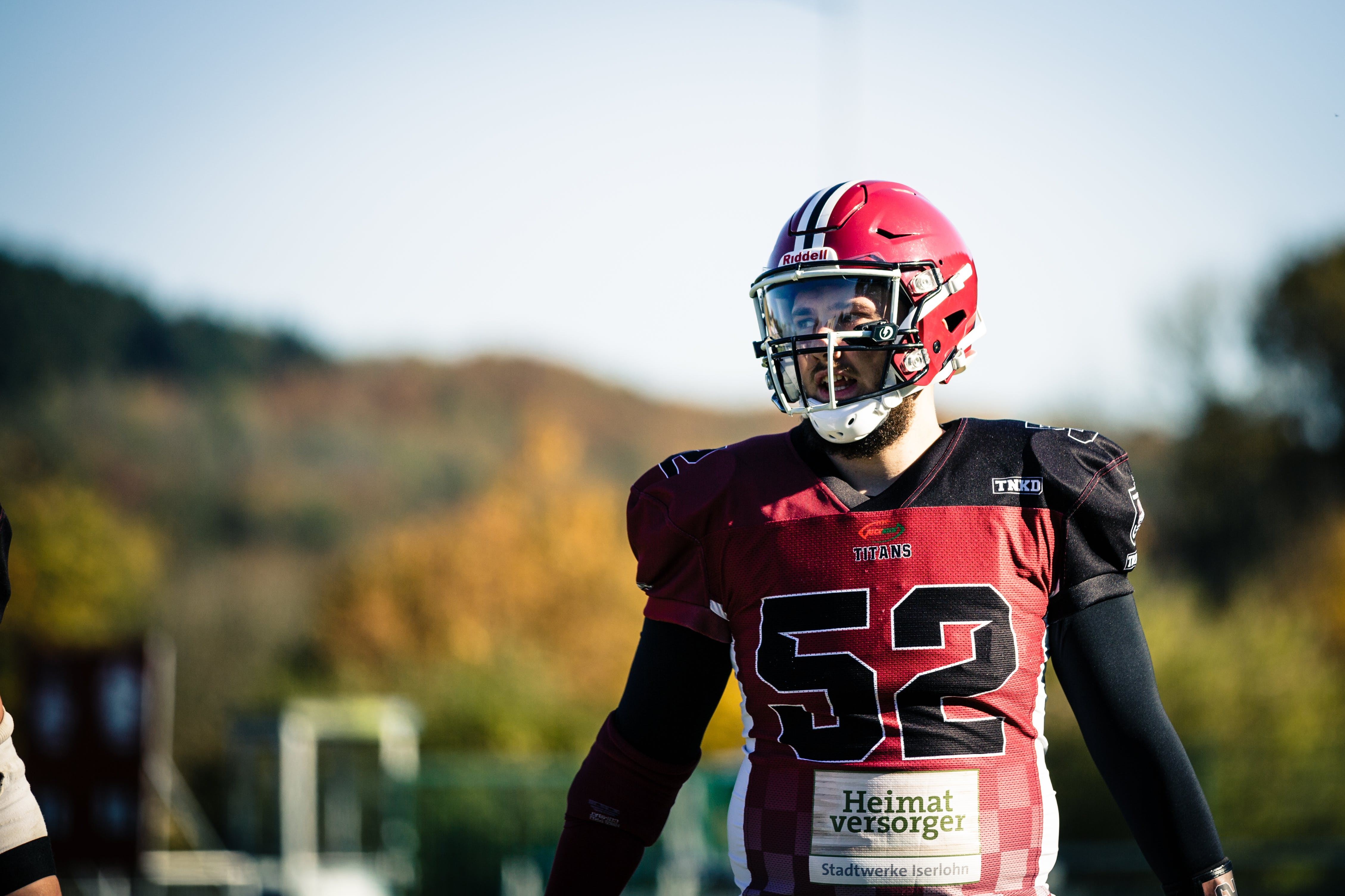 Selective Focus Photography of Football Player