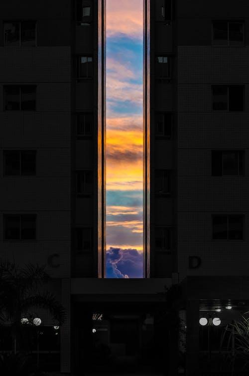 Ilmainen kuvapankkikuva tunnisteilla arkkitehtuuri, auringonlasku, business