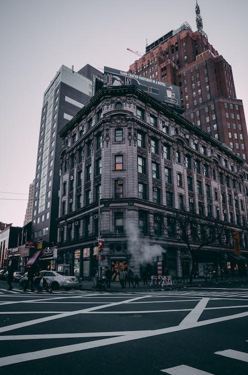 Immagine gratuita di angolo della strada, attraversamento pedonale, città, metropoli