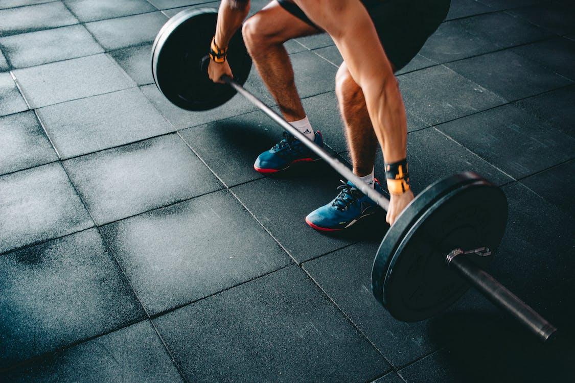 강철, 건장한, 근육
