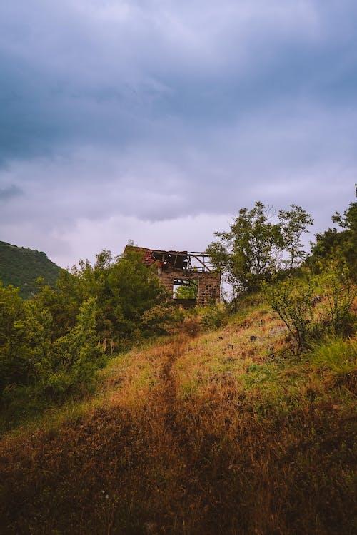 คลังภาพถ่ายฟรี ของ ป่าเขา, ฝน, หมู่บ้าน