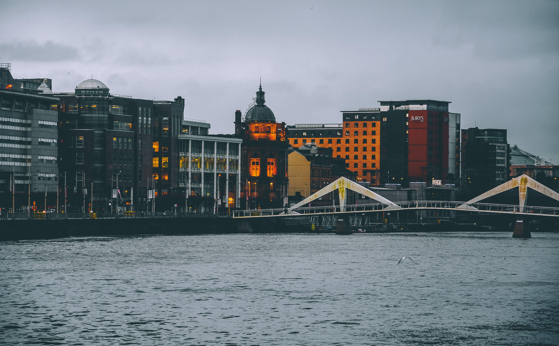 Free stock photo of architecture, bridge, capture, cloudy